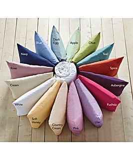 Polycotton Percale Oxford Pillowcase Pr