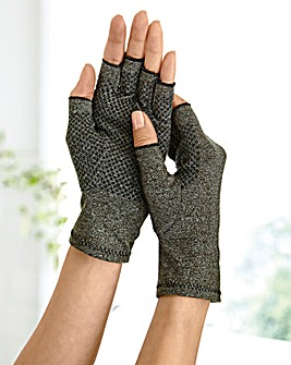 Compression Gloves with Grips