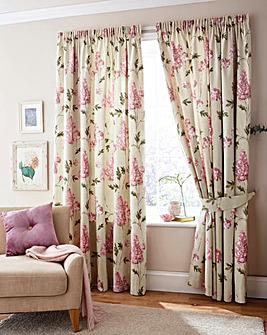 Carys Floral Print Curtains