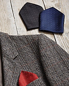 Fancy Pocket Squares Set of 3