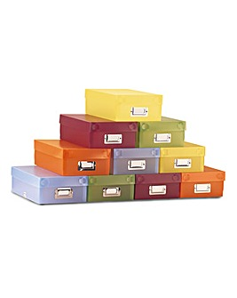 Storage Boxes Set of 5