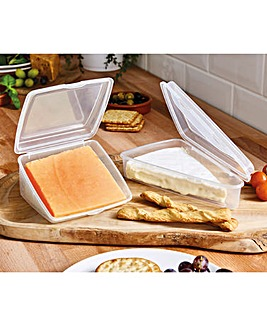 Cheese Keeper Set of 2
