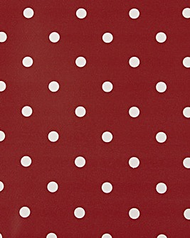 Wipe Clean Tablecloth Polka Dot