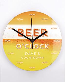Beer Countdown Clock Personalised
