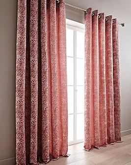 Flora Woven Jacquard Curtains