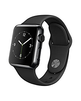Apple  38mm Black Stainless Steel