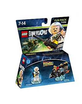 Lego Dimensions Back 2 Future Doc Brown