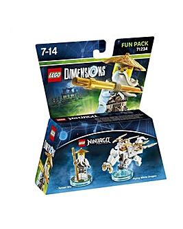 Lego Dimensions Ninjago Sensei Wu FunPk