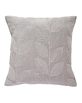Colorado Leaf Jacquard Cushion