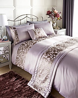 Grace Mauve Duvet Cover Set