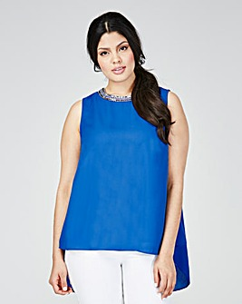 Lovedrobe Pleated Back Top