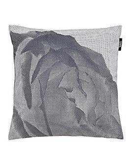 Karl Lagerfeld Pixel Rose Cushion