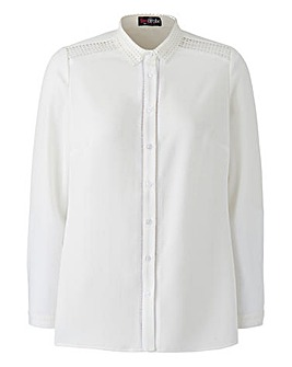 Lovedrobe Shoulder Detail Shirt