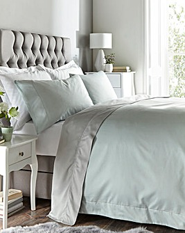 Egyptian 400 TC Oxford Duvet Cover