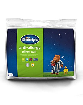 Silent Night Anti Allergy Pillow Pair
