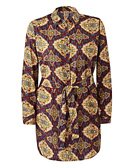 AX PARIS PRINT SHIRT DRESS