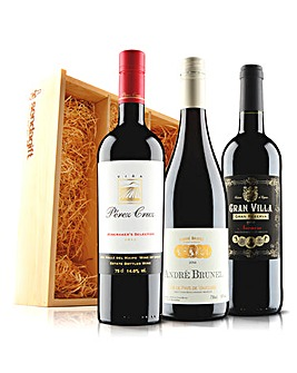 Virgin Wines Premium Red Trio