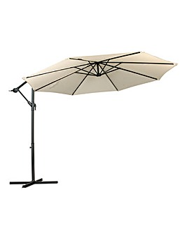 Cantilever Parasol Ivory