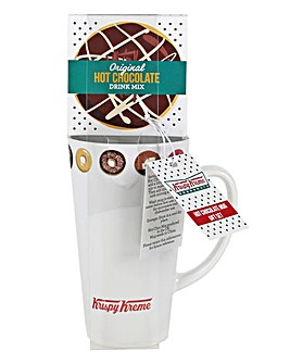 Krispy Kreme Hot Chocolate & Mug Gift