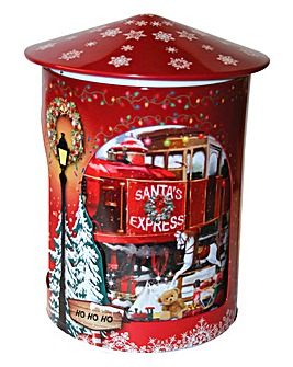 Santa Express Musical Rotating Tin