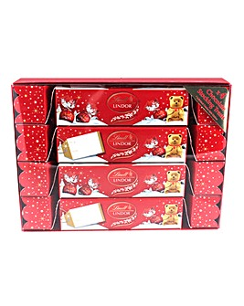 Lindt Lindor Cracker Pack 4