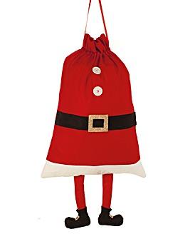 Santa Legs Sack