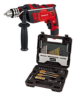 Einhell 240V Impact Drill & 70pc Bit Set