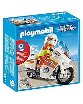 Playmobil Emergency Motorcycle
