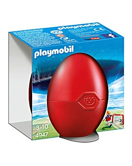 Playmobil Soccer Player Egg