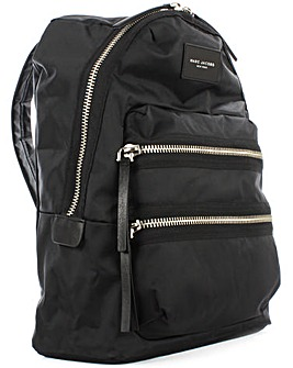 Marc Jacobs Black Nylon Backpack