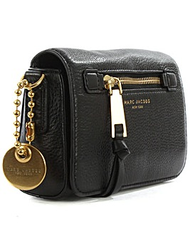 Marc Jacobs Black Leather Cross-Body Bag