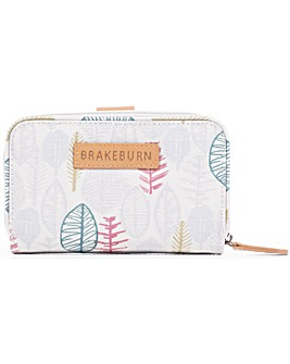 Brakeburn Sketchy Leaves Wallet