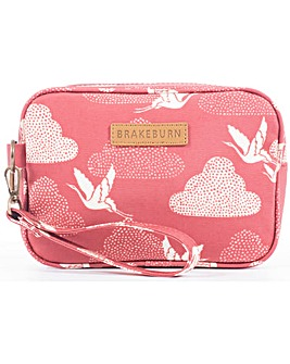 Brakeburn Cranes Small Wash Bag