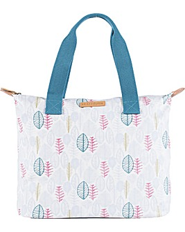 Brakeburn Sketchy Leaves Shopper