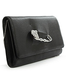 Versus Versace Black Clutch Bag