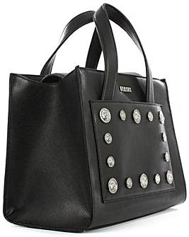 Versus Versace Top Handle Black Bag