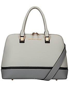 Smith & Canova Twin Strap Zip Round