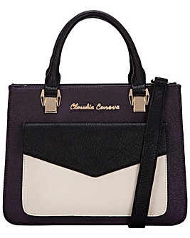 Claudia Canova Envelope Fronted Zip Top