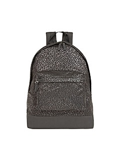 Walker Metallic Geo padded rucksack