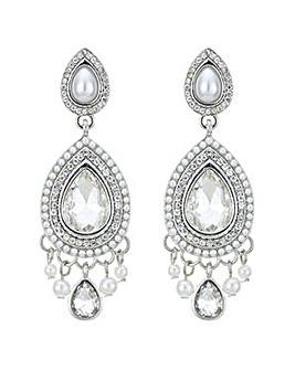 Mood Pearl teardrop chandelier earring