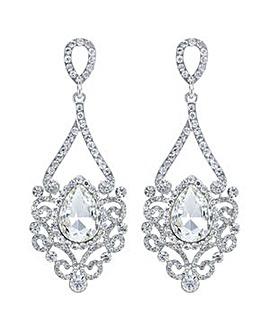 Mood Silver chandelier earring