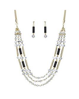 Mood Monochrome multi jewellery set