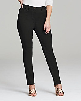 Lexi High Waist Slim Leg Jeans Short