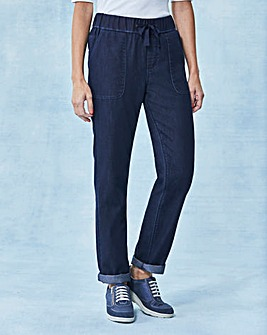 Relaxed Slouch Jeans Long
