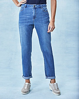Supersoft Boyfriend Jeans Reg