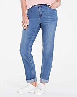 Jade Super Soft Boyfriend Jeans Short