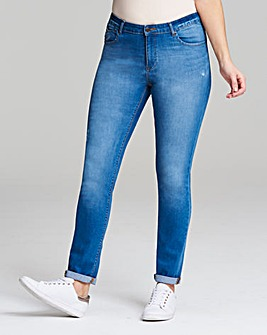 Sadie Relaxed Slim Leg Jeans Short