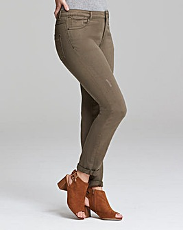 Sadie Relaxed Slim Leg Jeans Long