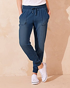 Lightweight Denim Jogger