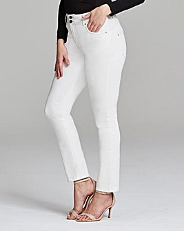 WhiteShape & Sculpt Straight Jeans Short